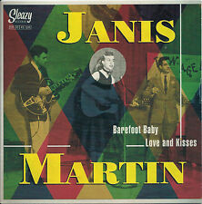 Rockabilly: JANIS MARTIN-Barefoot Baby/Love & Kisses SLEAZY - KILLER - HEAR IT!