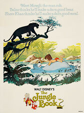 Jungle Book Disney Movie Film Poster Art Print (MSP 036)