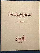 Prelude and Presto for Brass Quintet, Allen Vizzutti