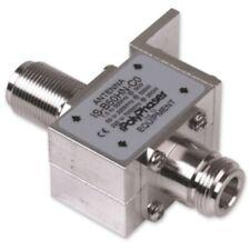 Polyphaser IS-B50HN-C0-MA Bulkhead Lightning Arrestor, 1.5-700 MHz, N-Type M/F