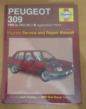1266 Peugeot 309 1986 to 1993 Petrol Haynes Service and Repair Manual