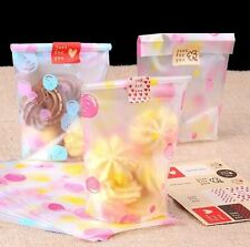 Bubble Printed Cookie Cellophane Bags! Frosted Matt Effect Cupcake