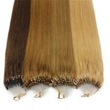 """1g/s 100g 16""""-22"""" Micro Ring Loop Remy Human Hair Extensions"""