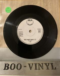 "T. Rex - Ride A White Swan 1970 BUG 1 Single Vinyl 7"" Fly Records T.Rex Bolan EX"