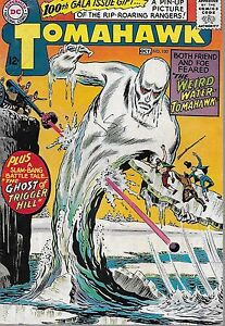 "*DC (1965) TOMAHAWK #100 - ""The Weird Water-Tomahawk"" -- 6.0 FN"