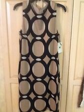 NWT Worth Overlapping Circles Knit Dress Size 14 $348