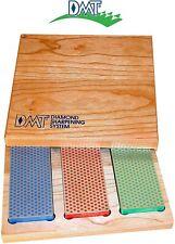 3-6-in. Diamond Whetstone Models Knife and Tool Sharpening Kit (Wood Box)