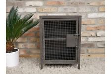 Industrial Urban Style Bedroom Bedside Table | Metal Cage Design