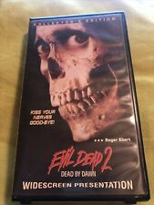 Evil Dead 2: Dead By Dawn Vhs (Collector's Edition, Widescreen Presentation)