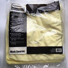 Rubbermaid 24 PK 16 X 16 Microfiber Cloth Cloths Yellow NIP