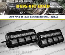 LADA NIVA 4x4 2121 URBAN LED Headlights DRL CREE + Relay