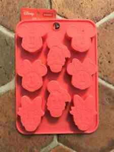 Disney Mickey & Friends Chocolate Silicone Mold Tray Decoration  DIY Craft Head