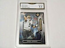 Drew Brees GRADED CARD!!!! 2015 Topps Insert #DB Saints MVP!! 8.5%-1