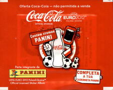 Panini Euro 2012 Sticker Packets Coca Cola Sealed Packet Promo special pack MINT