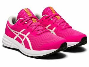Asics Patriot 12 PS Kids Childrens Girls Sports Running Casual Shoes Trainers