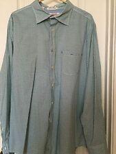 Jachs Just A Cheap Shirt Button Front M Medium Purple Green Check Long Sleeve