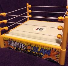 WWE Rare Yellow Summer Slam Ring World Wrestling Entertainment 2010 Mattel