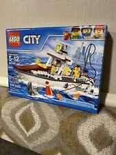 Lego 60147 City Fishing Boat New