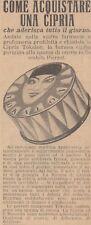 V1199 Cipria TOKALON - Pubblicità d'epoca - 1930 vintage advertising
