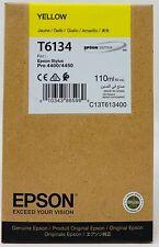 EPSON T6134 CARTUCCIA INCHIOSTRO ORIGINALE GIALLO PER STYLUS PRO 4400/4450