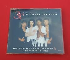 3T & Michael Jackson - CD - Why (Austrian 4-Track 1995)