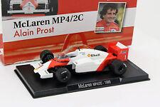Alain Prost McLaren mp4/2c #1 coupe du monde de Formule 1 1986 1:43 Altaya