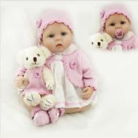 22 inch Realistic Reborn Baby Dolls Lifelike Newborn Baby Girl Doll AU