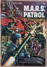 M.A.R.S. Patrol Total War #3 (1966) Gold Key Comics Wally Wood art Vg+/Fine-