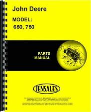 John Deere 650 750 (2 & 4 wheel drive) Tractor Parts Manual (Jd-P-Pc1873)