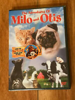 The Adventures of Milo and Otis DVD New