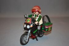 PLAYMOBIL-DINOSAURE Hunt avec moto set 5237-not complete
