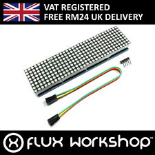 MAX7219 8x32 Red Serial Dot Matrix Display Module LED Pi Arduino Flux Workshop