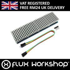 Max7219 8x32 Red Serial Dot Matrix Display Module Led Pi Arduino Flux Workshop
