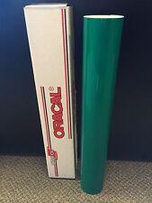 "Oracal 5500 Reflective Green Sign Vinyl 24""x10ft 7 year Reflective!!!!"
