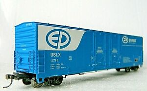 Atlas 53' Box Car Hi-Roof Reefer ~ Evans Products ~ Rd# 11713 - Kadee RARE - HO