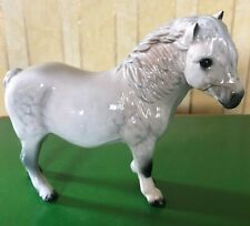 ROYAL DOULTON HORSE SHETLAND PONY DAPPLE GREY GLOSS MODEL No.DA 185 PERFECT