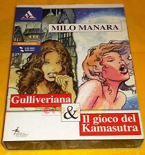 MILO MANARA GULLIVERIANA & IL GIOCO DEL KAMASUTRA Pc Italiano Big Box ○ COMPLETO