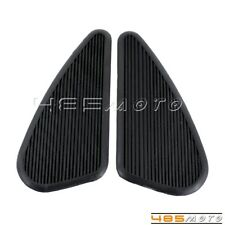 Small Gas Fuel Tank Knee Pads Tanks Decals Pair For Harley Honda Yamaha Suzuki