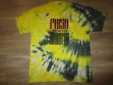 Phish Bonaroo 2009 Tie Dye Concert Shirt Lg L Adult