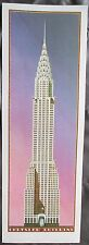 Chrysler Building Print, 1989, This is a rare print, I know of no other.