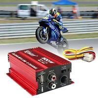 500W 2 CH Mini Hi-Fi Stereo Audio Amplifier Amp Subwoofer For Car Motorcycle BF