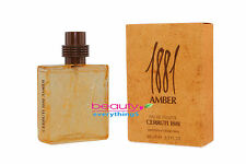 1881 Amber by Nino Cerruti 3.3oz EDT Spray NIB & Sealed Men's Cologne Very RARE