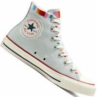 Converse Chuck Taylor All Star Hi Damen-Chucks Self Expression Bestickt Schuhe