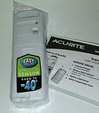 AcuRite Wireless Temperature Sensor Transmitter Model 00606TXA1 BRAND NEW