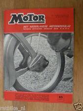MO6513-HONDA CB450,MOTOPLAS SCHERM BSA NORTON,UW VAKANTIE BEGINT NU GUZZI