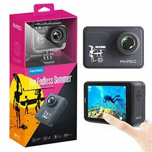 AKASO V50 Pro Endless Summer Special Edition Action Camera Touch Screen 4K30 ...