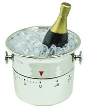 Grasslands Road About Time Champagne Bottle in Ice Mechanical Kitchen Timer