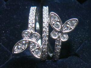 Original Swarovski Ring - Motiv Schmetterling