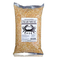 Crab Meal - Organic Crab Meal Fertilizer (Crab Shell) in BULK (5 pounds)