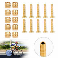 10 Pair MTB Bicycle Connector Insert Olive For SHIMANO BH59 Hydraulic Brake Hose